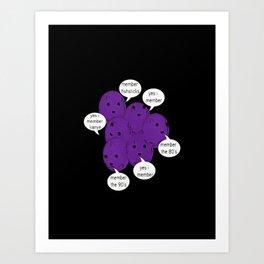 member berries Art Print
