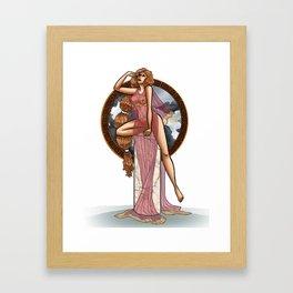 Eurydice Framed Art Print