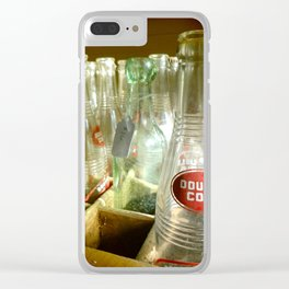 Double Cola Bottles Clear iPhone Case