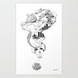Visible Art Print