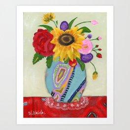 """""""Flowers for Frida 2"""" Art Print"""