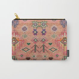 Moroccan Berber Traditional Carpet Carry-All Pouch