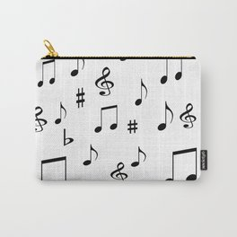 Music Notes Carry-All Pouch