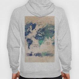 world map 138 #worldmap #map Hoody