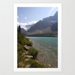 the lakes edge Art Print
