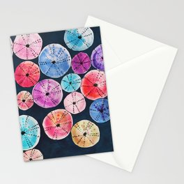 colorful seashells Stationery Cards