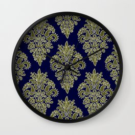 Ornate Vintage Pattern Wall Clock