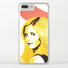 Buffy Clear iPhone Case