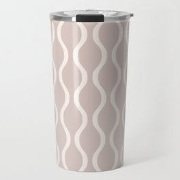 Classic Retro Ogee Pattern 732 Beige Travel Mug