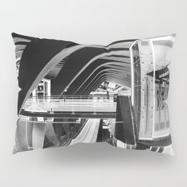 Lyon negativo Pillow Sham