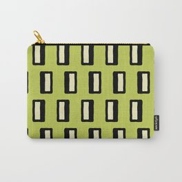 Chad Pattern Chartreuse 2 Carry-All Pouch