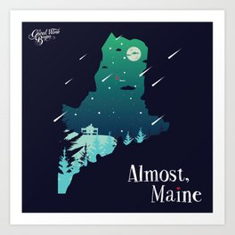 Almost, Maine Art Print