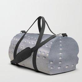 Aluminium Aircraft Skin Texture Duffle Bag