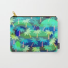 Tropical shades Carry-All Pouch