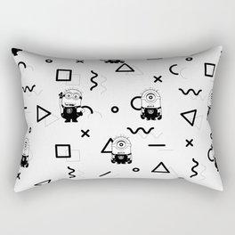Memphis Minion Style Rectangular Pillow