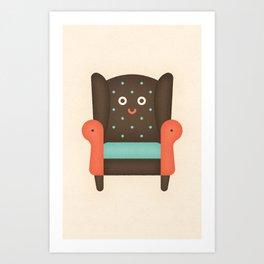 Arm Chair Art Print