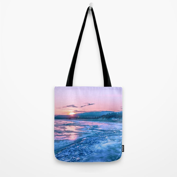 Baikal sunrise Tote Bag