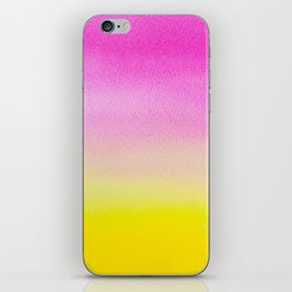 Abstract painting in modern fresh colors iPhone Skin