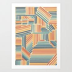 Strypes Art Print
