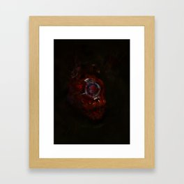 The Heart Framed Art Print
