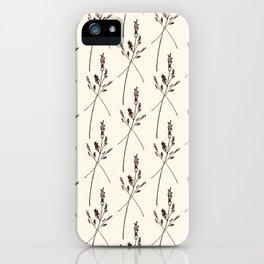 Classic Vintage Regency Wildflower Print iPhone Case