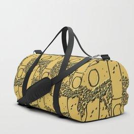Golden Candle Angels Duffle Bag