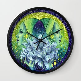 Empathic Wall Clock