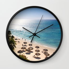 Playa Paraiso Cayo Largo, Cuba Wall Clock
