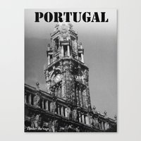 portugal Canvas Prints featuring Portugal by Zander the Sage