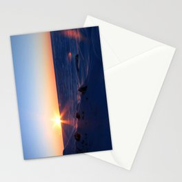 Sunrise on the Sound Stationery Cards