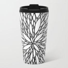 Chrysanthemum Burst Travel Mug