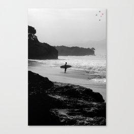 Secret Surf Spot Canvas Print