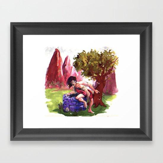 Narcisus Framed Art Print