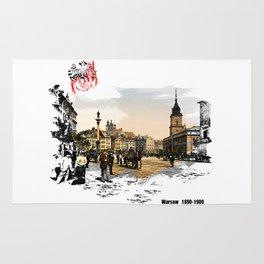 Poland, Warsaw 1890-1900 Rug