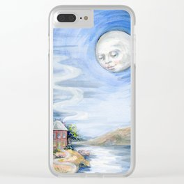 Lake House Odd Clear iPhone Case