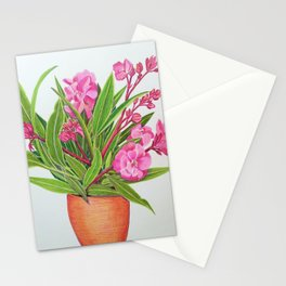 Oleanders Stationery Cards