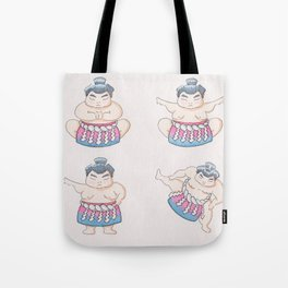 Paths of the sumo Tote Bag