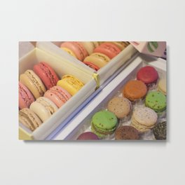Macarons galore Metal Print