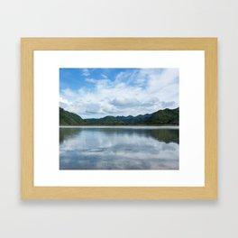 Cloud Reflections Photography Print Framed Art Print