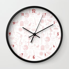 Buffy Symbology, Red Wall Clock