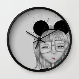 Entitled Wall Clock