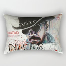 Django / Jamie Foxx Rectangular Pillow