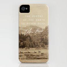 Keats: Poetry iPhone (4, 4s) Slim Case