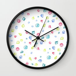 Gems Wall Clock