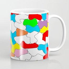 Multi-colored Shapes  Coffee Mug