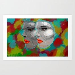 Miss BIOS Art Print