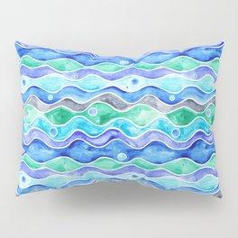 Ocean Pattern - Dolphin Pillow Sham