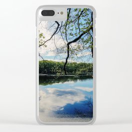Pond Views Clear iPhone Case