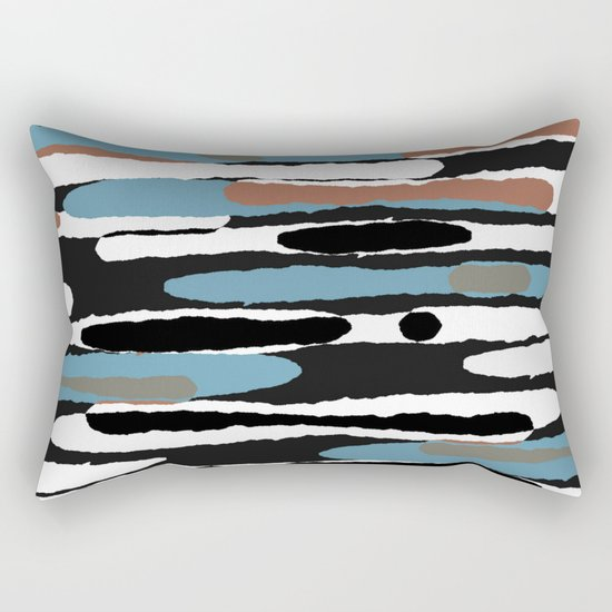 Camouflage III Rectangular Pillow