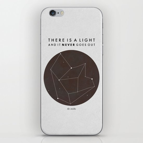 There Is A Light iPhone & iPod Skin